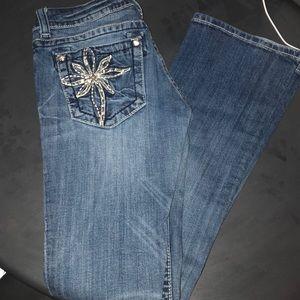 Miss Me bootcut jeans. 27 regular. NWOT